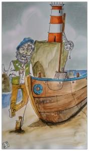 """""""I Malavoglia"""", illustrazione di Christian Durando"""