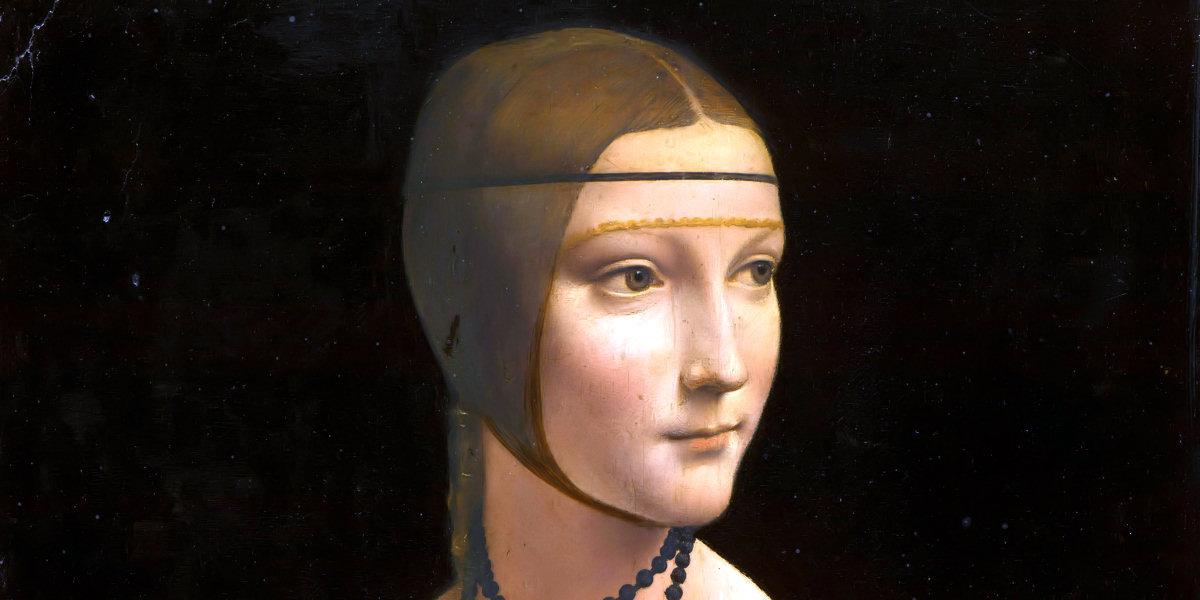 Dama con l'ermellino di Leonardo da Vinci