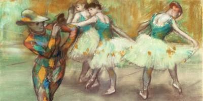 Arlequin danse di Edgar Degas