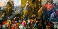 """""""Battaglia di Zama"""" di Giulio Romano (1499-1546)"""