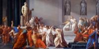 Morte di Cesare di Vincenzo Camuccini (1771–1844)