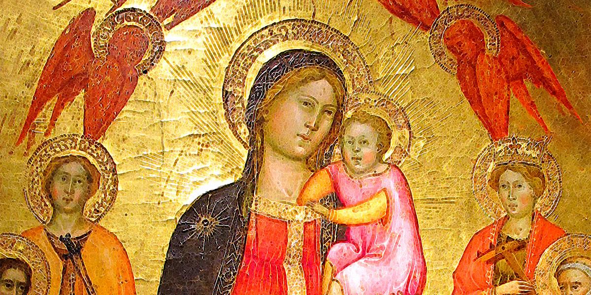 Madonna col Bambino con Angeli e Santi. Cennino Cennini (1370–1427)