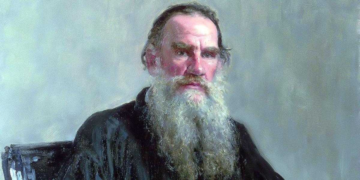Lev Nikolayevich Tolstoy di Ilya Repin