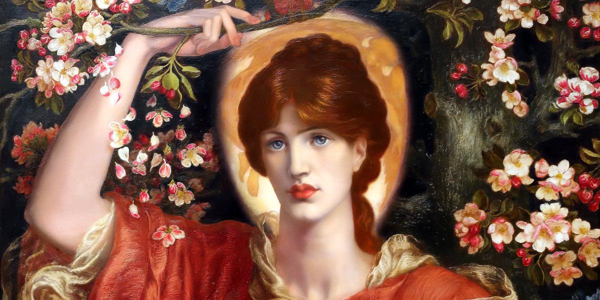 A Vision of Fiammetta di Dante Gabriel Rossetti