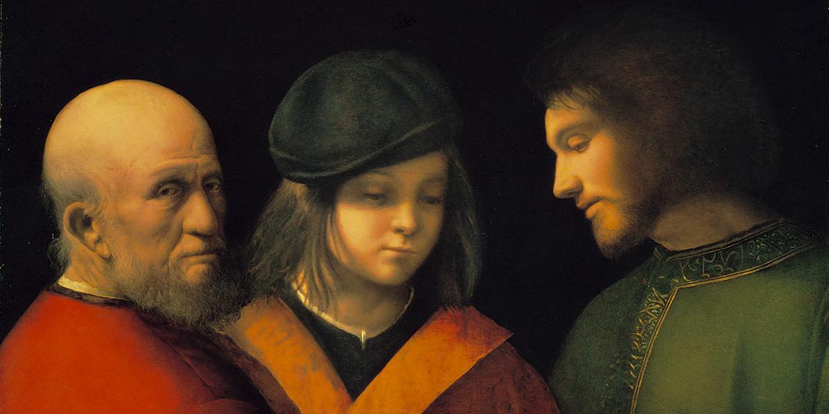 Tre età dell'uomo. Giorgione
