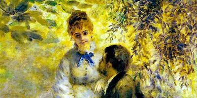 Les Amoureux (1875) di Auguste Renoir