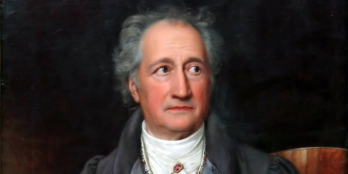 : Johann Wolfgang von Goethe di Joseph Karl Stieler