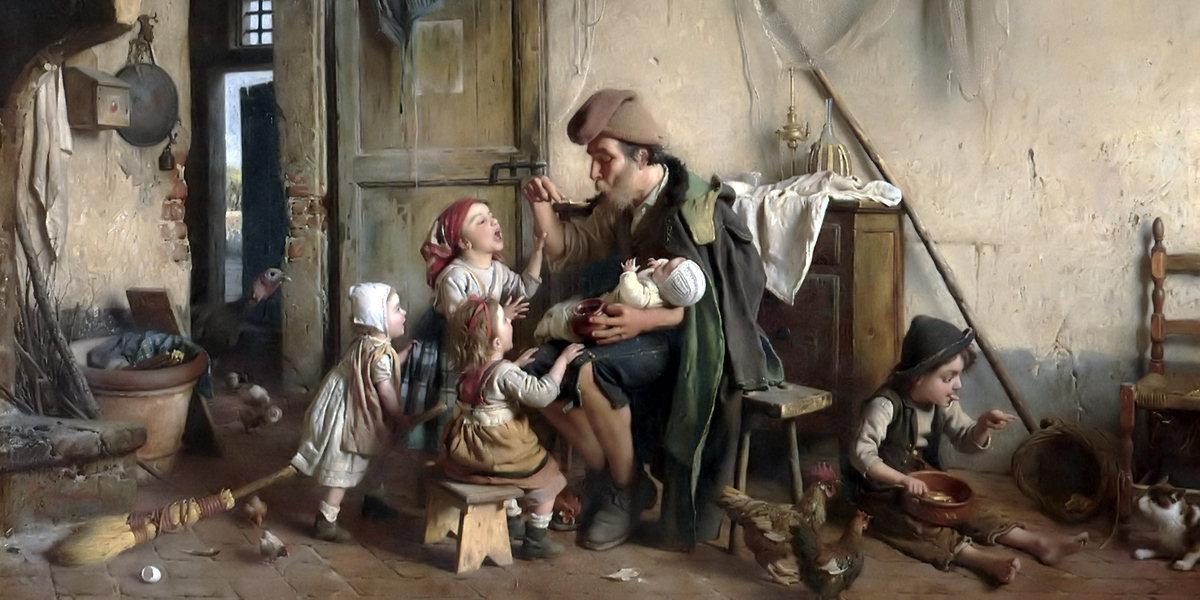 Dipinto di Gaetano Chierici