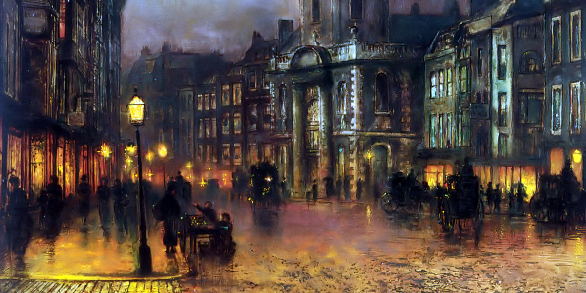 Blackman Street London di John Atkinson Grimshaw