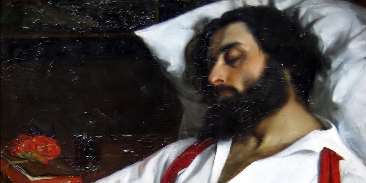 L'homme endormi di Carolus-Duran