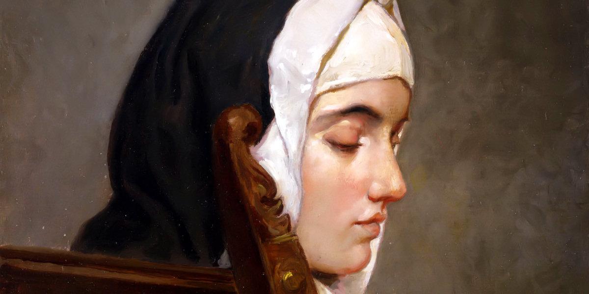 la monaca di Francesco Hayez