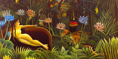 Le rêve (1910) di Henri Rousseau (1844–1910)