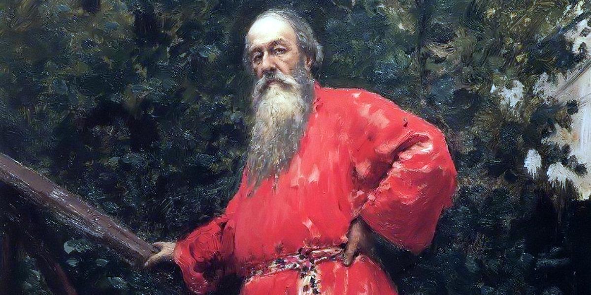 Stasov di Ilya Repin