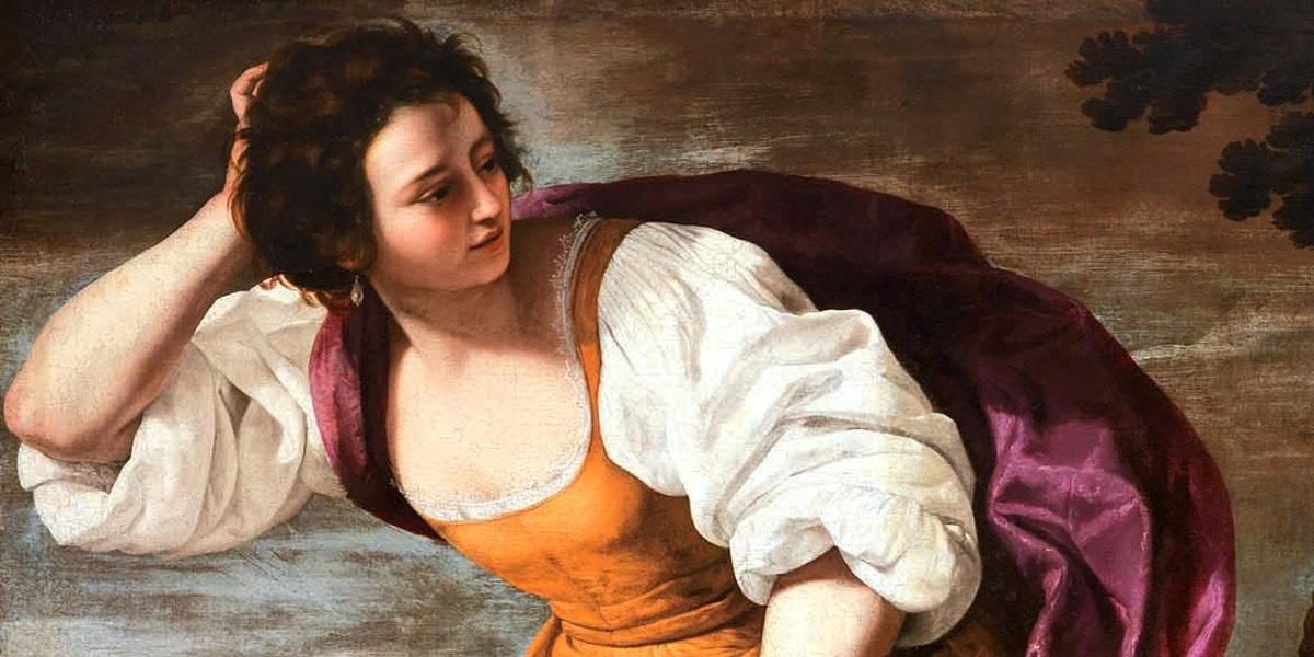 Corisca e il satiro di Artemisia Gentileschi (1593–1653)
