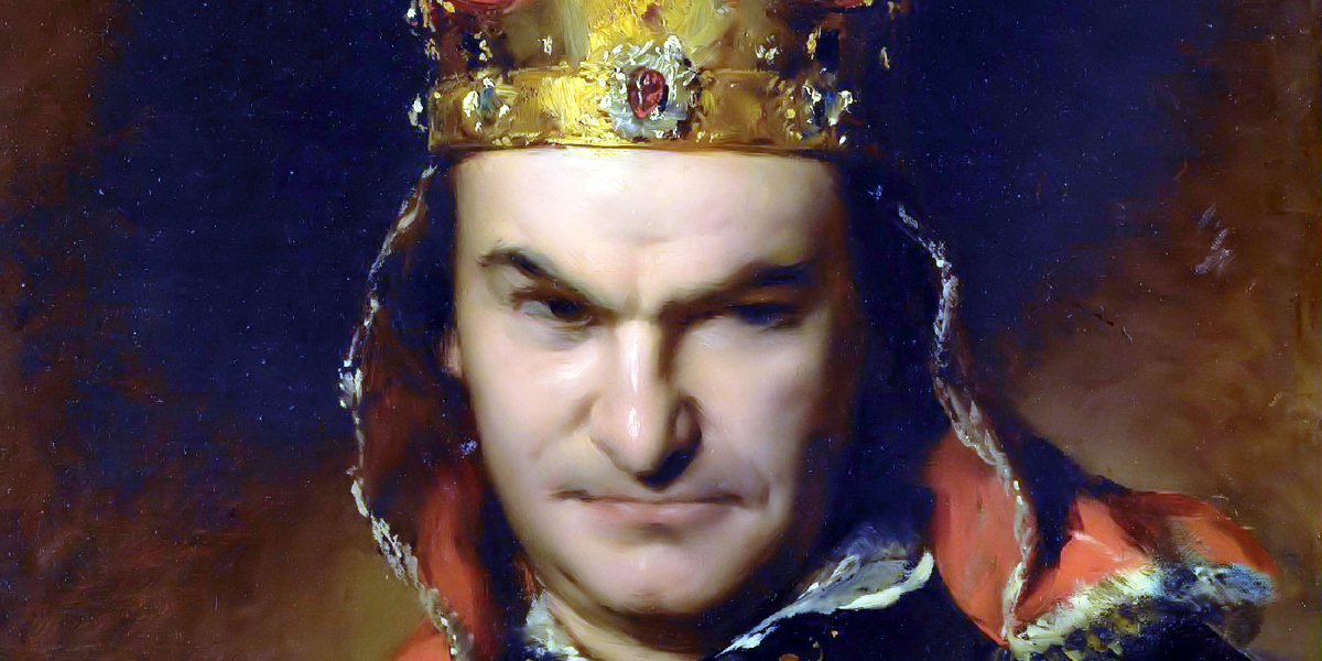 Bogumil Dawison as Richard III di Friedrich von Amerling