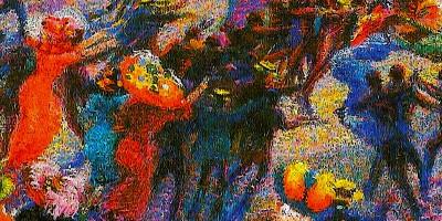 """""""Rissa in galleria"""" di Umberto Boccioni"""