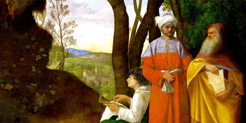 Tre filosofi di Giorgione