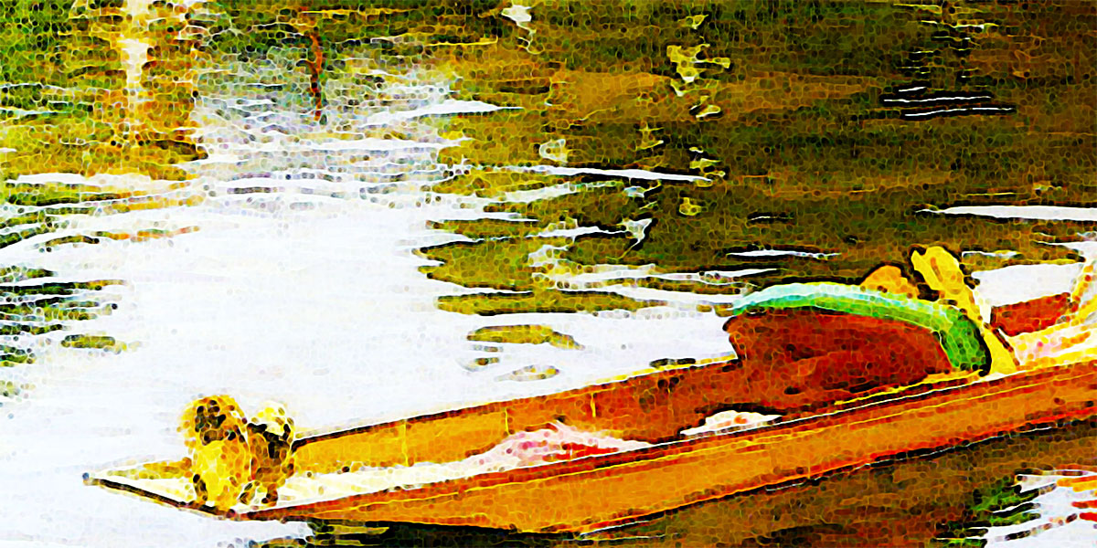 Boating on the Thames. John Lavery