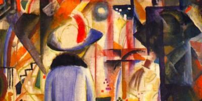 Großes helles Schaufenster di August Macke (1887–1914)
