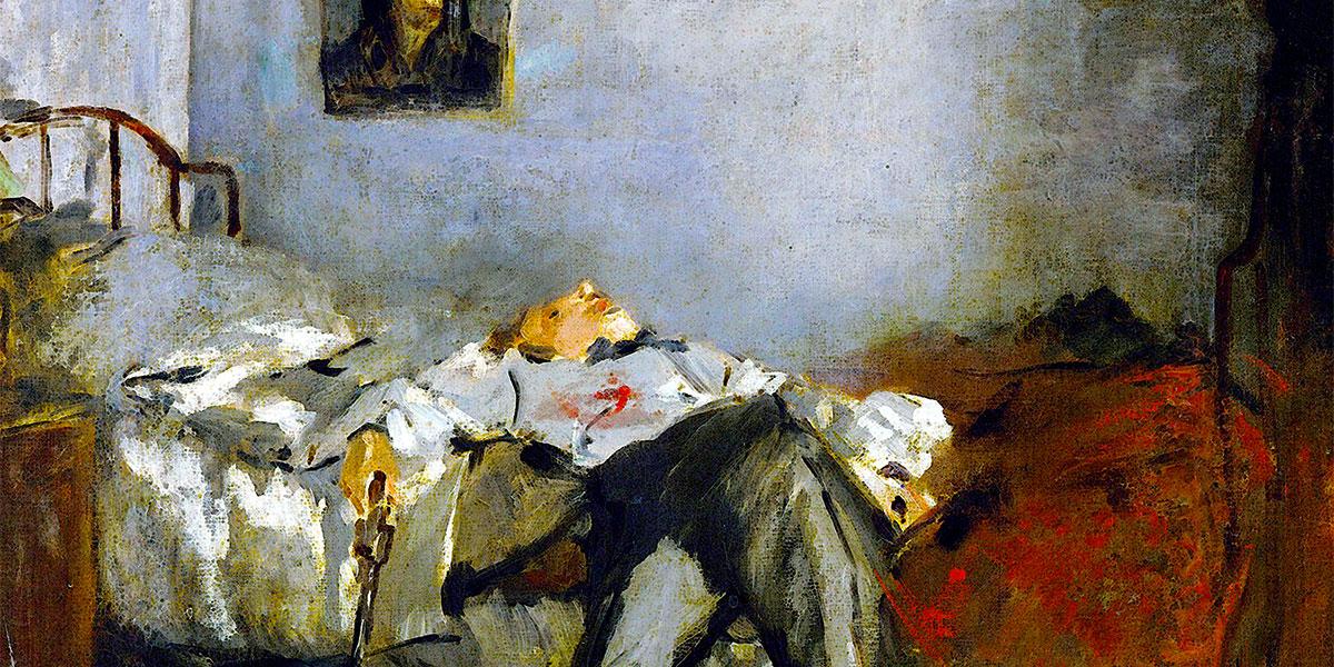 Édouard Manet - Le Suicidé (ca. 1877)
