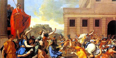 The Abduction of the Sabine women. Nicolas Poussin (1594–1665)