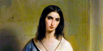 """Pensiero Malinconico"" (1842) di Francesco Hayez."