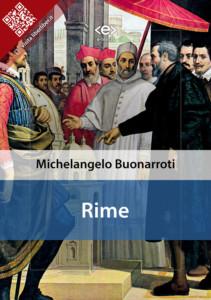 Rime di Michelangelo Buonarroti