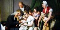 Louis Léopold Boilly, La vaccinazione (1807)