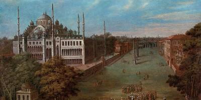 Jean-Baptiste van Mour. Il gran visir attraversa la piazza Atmeydan