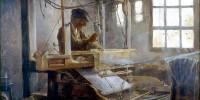 The Breton Weaver. Paul Serusier (1864-1927)