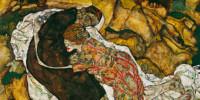 Egon Schiele. Death and the Maiden, 1915