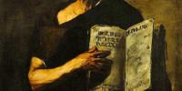 Mathematic (particolare). Ritratto di Luca Giordano (Napoli 1634-1705)