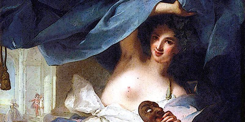 Talia in un dipinto di Jean-Marc Nattier (1739)