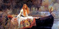 John William Waterhouse. The Lady of Shalott