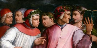 Giorgio Vasari, Ritratto di sei poeti toscani, olio su tela, 1544, Minneapolis Institute of Arts