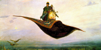 The Flying Carpet. Viktor Vasnetsov (1848–1926)
