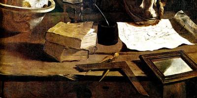 Archimedes (particolare). Domenico Fetti (1588-1623)