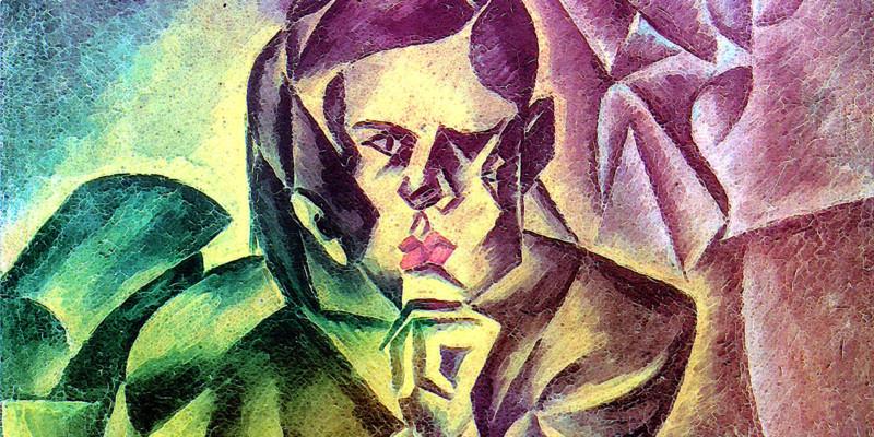 Podobizna Jana Zrzavého di Bohumil Kubišta (1884–1918)