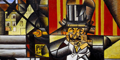 Man in a Café. Juan Gris (1887–1927)