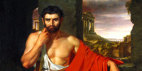 Caius Marius Amid the Ruins of Carthage. John Vanderlyn (1775–1852)
