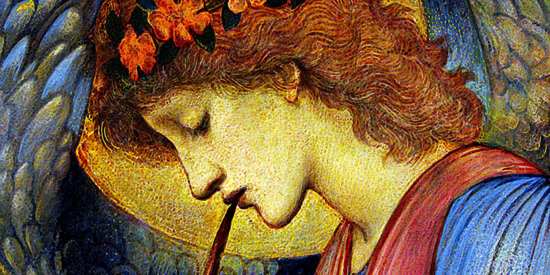 An Angel. Edward Burne-Jones