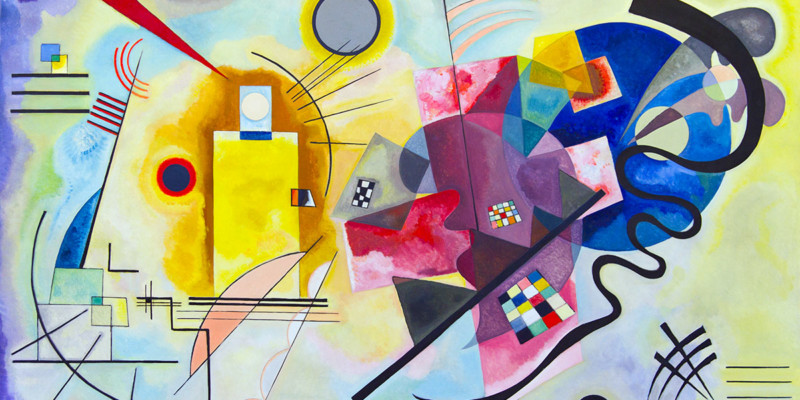 Kandinsky - Giallo, rosso, blu (1925)