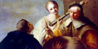 Lezione di astronomia. Giuseppe Angeli (1712-1798).