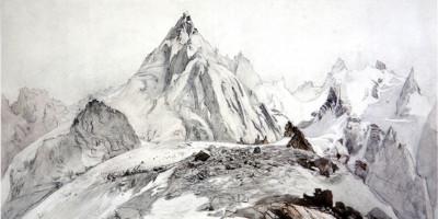 The Aiguille Blaitiere. John Ruskin