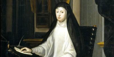 Portrait Of Queen Mariana De Austria As A Widow Juan Carreno de Miranda. Date: 1669