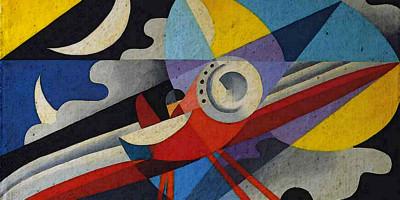 Giulio D'Anna (1908-1978). Idrovolante. 1931
