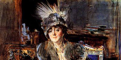 Giovanni Boldini (1842-1931). Ritratto di Madame Lacroix, 1910