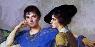 he Sisters. Edmund C. Tarbell (1862–1938)
