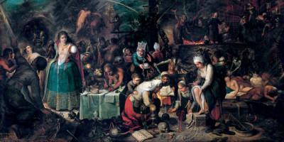 The Witches Sabbath di Frans Francken II