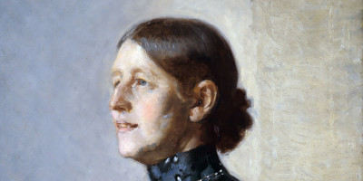 Portrait of the Artist's Wife. Michael Peter Ancher (1849–1927)